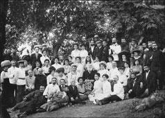 Телави. Акакий Церетели в Телави, 1911