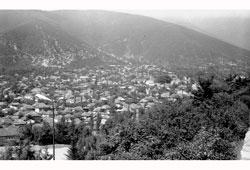 Телави. Панорама города, 1987